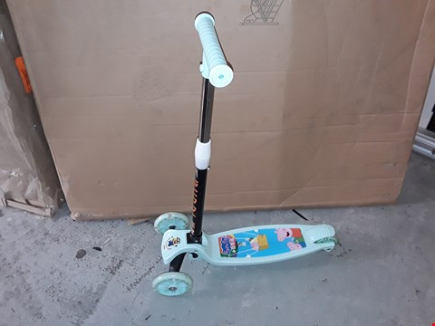Lot 2533 CHILDRENS 3 WHEEL SCOOTER BOXED