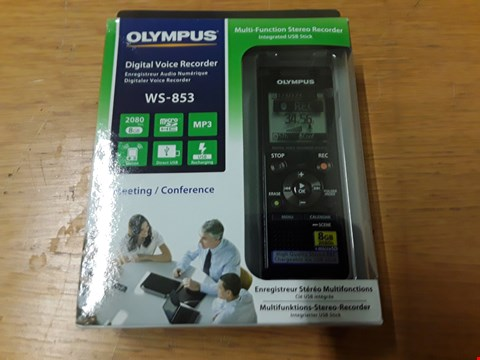 Lot 110 BOXED OLYMPUS DIGITAL VOICE RECORDER  RRP £99