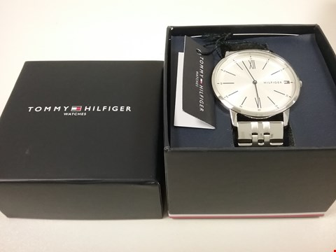 Lot 2456 TOMMY HILFIGER COOPER STAINLESS STEEL WATCH