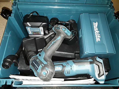 Lot 693 MAKITA CLX203AJX1 10.8 V LI-ION CXT 2 PIECE KIT COMPRISING COMBI DRILL