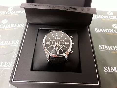 Lot 2008 HUGO BOSS MEN'S WATCH WITH STOPWATCH FUNCTION
