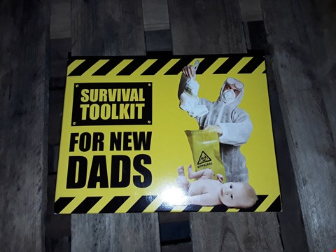 Lot 10815 BOXED GRADE 1 SURVIVAL TOOL KIT FOR NEW DADS