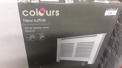 Lot 228 COLOURS NEW SUFFOLK MEDIUM WHITE RADIATOR COVER  RRP £74