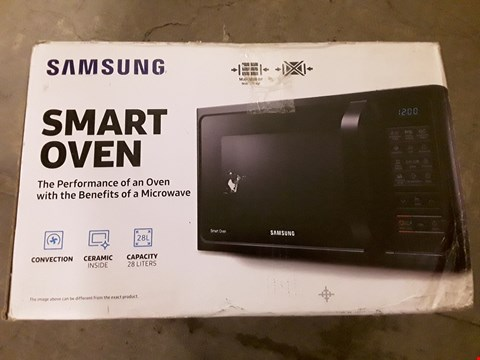 Lot 538 SAMSUNG MC28H5013AS/EU COMBINATION MICROWAVE