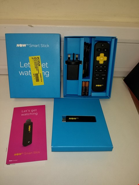Lot 3007 NOW TV SMART TELEVISION STREAMING STICK