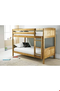 Lot 37 BUNK BED OAK EFFECT