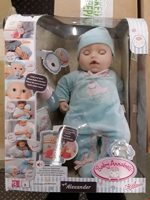 Lot 2334 BABY ANNABELL ALEXANDER RRP £50.78
