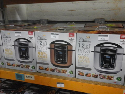 Lot 43 BOXED PRESSURE KING PRO 5L 12-IN-1 DIGITAL PRESSURE COOKER RRP £69.99