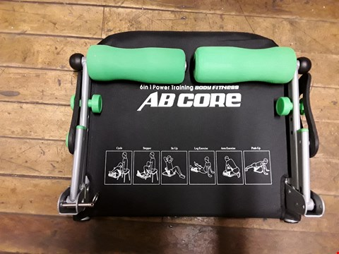 Lot 10090 4 ITEMS TO INCLUDE AB CORE 6 IN 1, 2 X XCER-FIT CYCLE AND 6 IN 1 POWER FITNESS SHAPER