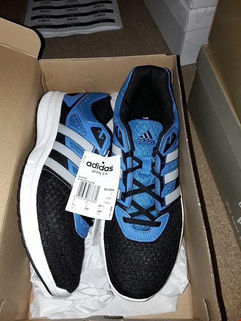 Lot 2007 4 PAIRS OF BRAND NEW ADIDAS TRAINERS TRAINERS TO INCLUDE, 3 PAIRS OF HARD COURT REVELATOR SIZES 7 AND 1 PAIR OF ADIDAS GALAXY 2 M BLUE/ BLACK 7  RRP £120