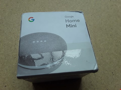 Lot 20 BOXED GOOGLE HOME MINI