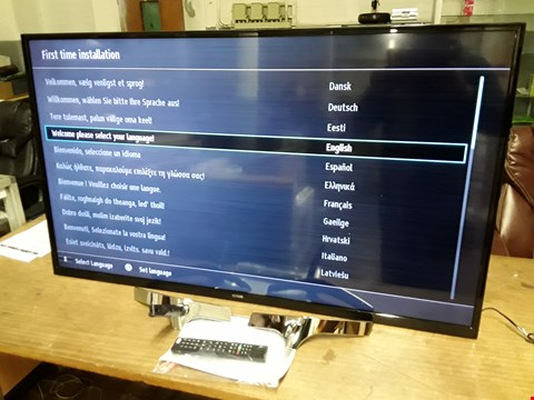 "Lot 34 LUXOR 55"" SMART FULL HD TV  RRP £519.00"