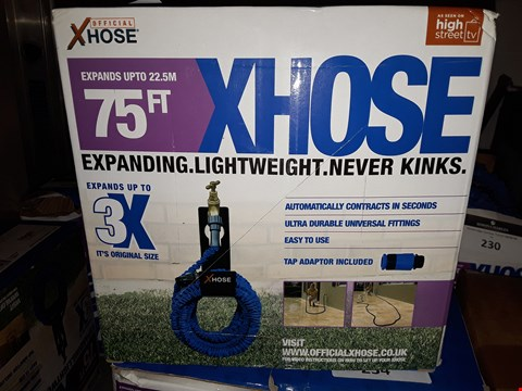 Lot 216 75FT XHOSE LIGHTWEIGHT NEVER KINKS