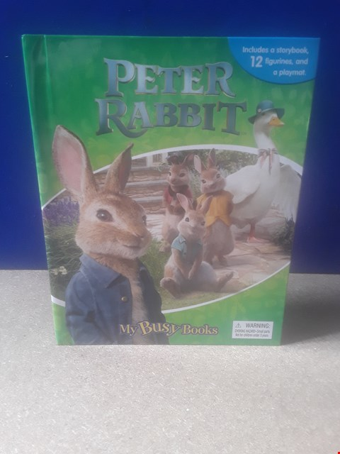 Lot 5026 PETER RABBIT BUSY BOOK