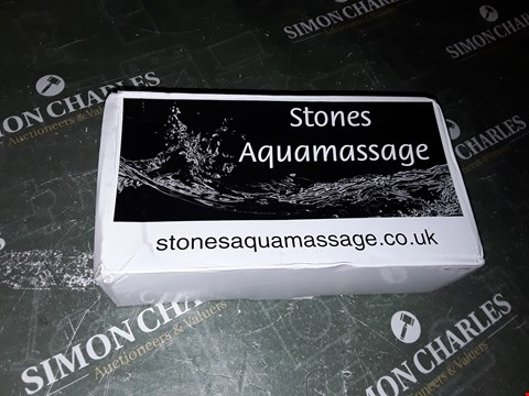 Lot 1101 AQUA MASSAGE STONES WATER BAG WITH TEMPERATURE READER