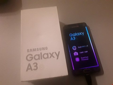 Lot 4061 BOXED SAMSUNG GALAXY A3 6 MOBILE PHONE