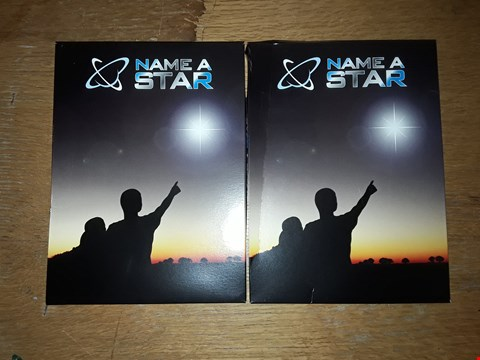 Lot 9380 LOT OF 2 GRADE 1 NAME A STAR GIFT PACKS  RRP £52.00