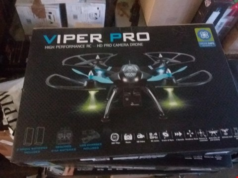 Lot 7142 VIPER PRO DRONE WITH HD CAMERA