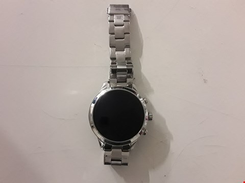 Lot 3055 MICHAEL KORS RUNAWAY DISPLAY SMART WATCH- STAINLESS STEEL  RRP £449.00