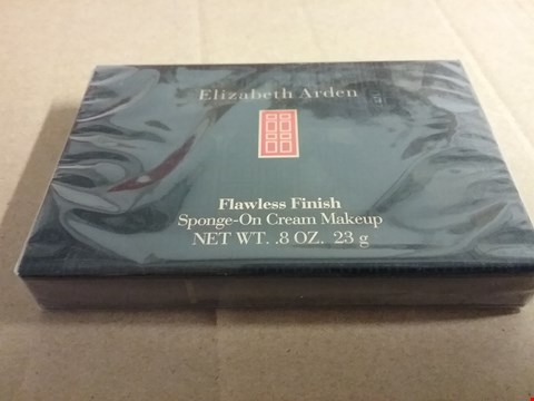 Lot 1254 A LOT OF 2 BRAND NEW ELIZABETH ARDEN FLAWLESS FINISH SPONGE-ON CREAM MAKEUP 8OZ. 23G RRP £40