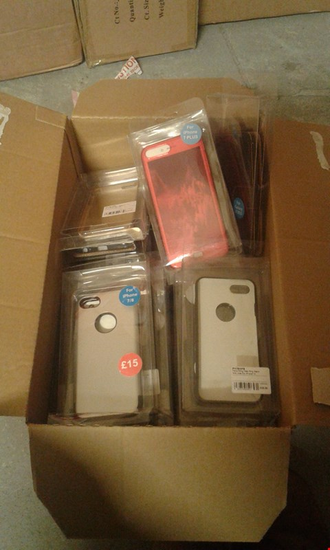 Lot 11506 BOX OF APPROXIMATELY 30 ASSORTED MOBILE PHONE CASES