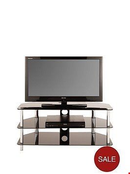 Lot 2347 BOXED GRADE 1 DARCY TV STAND BLACK RRP £119