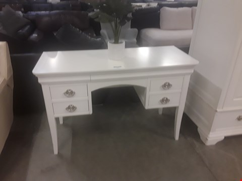 Lot 2051 QUALITY DESIGNER CHANTILLY FRENCH-STYLE WHITE DOUBLE WARDROBE AND DRESSING TABLE  RRP £2399.98