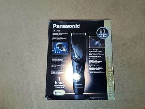 Lot 6051 PANASONIC ER-GP80  PROFESSIONAL HAIR CLIPPERS
