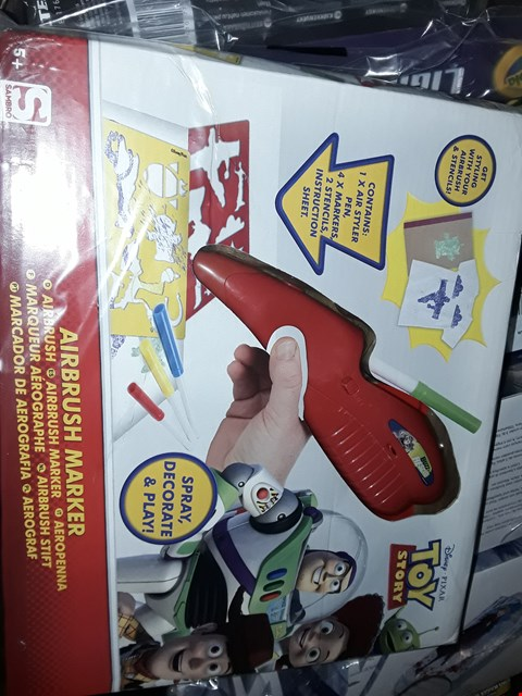 Lot 6060 GRADE 1 TOY STORY AIRBRUSH MARKER SET RRP £11.99