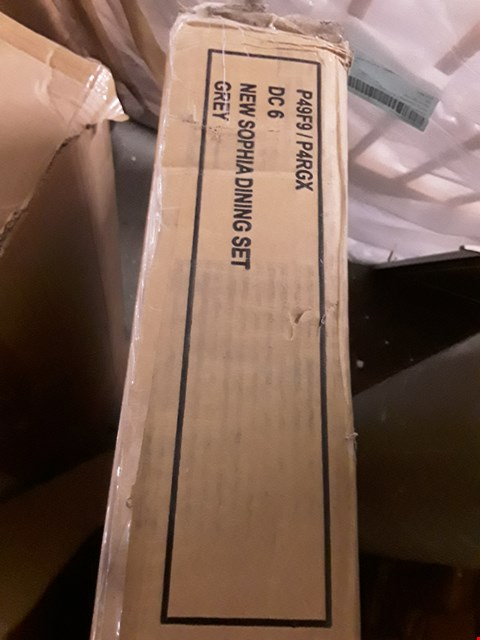 Lot 2013 BOXED SOPHIA DINING SET (BOX 1 OF 2 TABLE ONLY)
