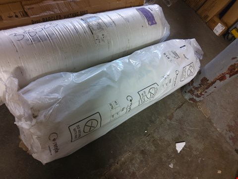 Lot 211 BAGGED ROLLED 4FT6 ORTHO POCKET 3000 MATTRESS