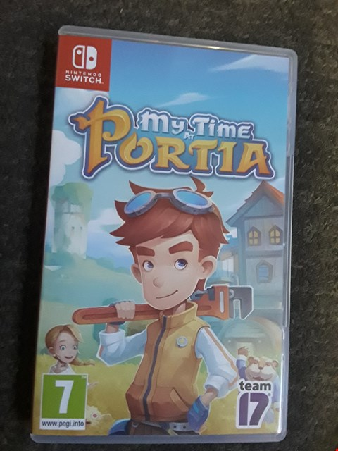 Lot 2521 MY TIME IN PORTIA NINTENDO SWITCH GAME