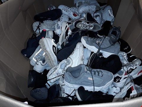 Lot 9992 LARGE QUANTITY OF FILA TRAINERS -  VARIOUS SIZES