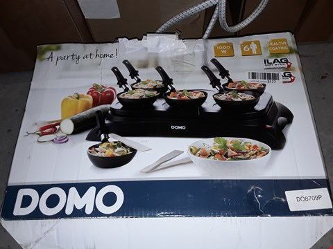 Lot 5430 DOMO DO8709P PANCAKE MAKER, 1000 W, BLACK