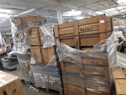 Lot 13050 15 ASSORTED PALLETS OF ASSORTED ITEMS TO INCLUDE : WINE RACK ASSEMBLY PACKS, DRIED FLOWERS