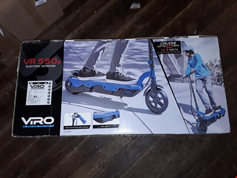 Lot 4948 VIRO RIDES VR 550E ELECTRIC SCOOTER - BLUE