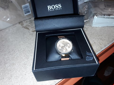 Lot 9220 HUGO BOSS BLACK CLASSIC SPORT MULTI DIAL WATCH  RRP £300.00