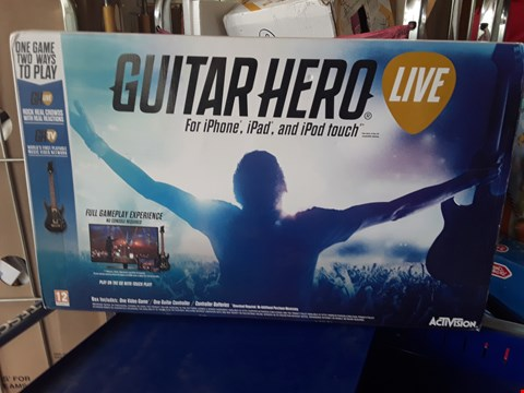 Lot 47 GUITAR HERO LIVE FOR IPHONE, IPAD AND IPOD TOUCH