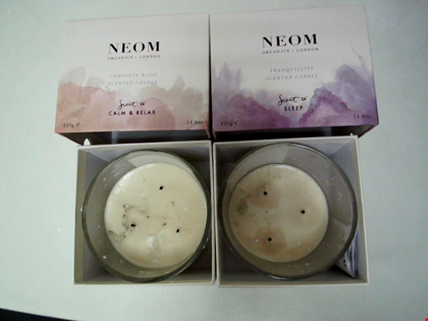 Lot 45 NEOM 3 WICK SCENTED CANDLE DUO