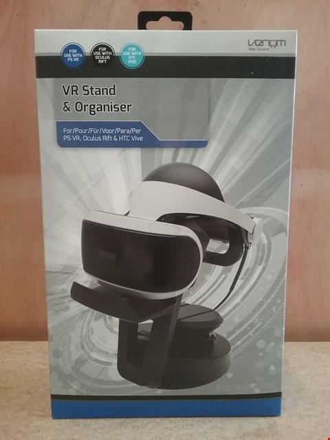 Lot 593 BRAND NEW BOXED VR STAND AND ORGANISER