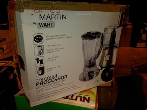 Lot 8144 JAMES MARTIN BY WAHL COMPACT PROCESSOR