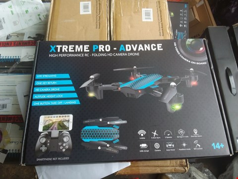 Lot 7108 ×3 XTREME PRO ADVANCE FOLDABLE DRONE