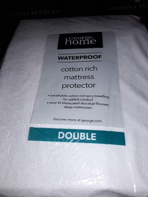 Lot 5249 WATERPROOF MATTRESS  COVER SIZE 135×190×26CM