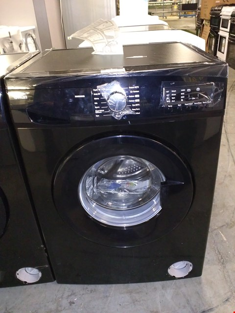 Lot 18 SWAN SW2080B 8KG 1400 SPIN WASHING MACHINE - BLACK