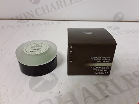 Lot 701 LOT OF APPROXIMATELY 5 ASSORTED BECCA BACKLIGHT TARGETED COLOUR CORRECTOR POTS- PISTACHIO