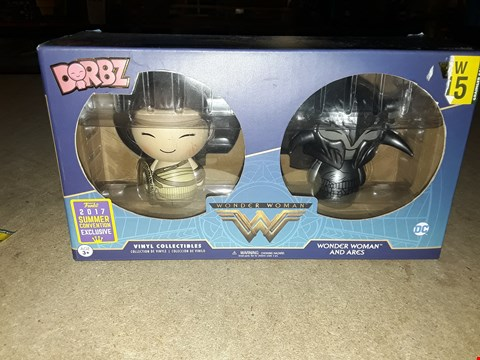 Lot 3004 WONDER WOMAN DORBZ COLLECTABLES