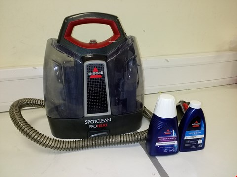 Lot 3215 BISSELL SPOT CLEAN PRO PORTABLE CARPET WASHER