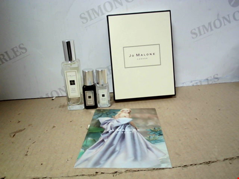 Lot 5596 JO MALONE 3 FRAGRANCES GIFT SET INCLUDING FIG & LOTUS FLOWER COLOGNE 30ML, CYPRESS & GRAPEVINE COLOGNE INTENSE 9ML AND WOOD SAGE & SEA SALT COLOGNE 9ML