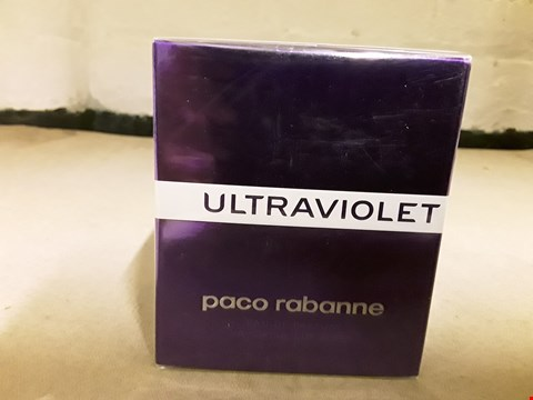 Lot 11059 BOXED PACO RABANNE ULTRAVIOLET EAU DE PARFUM NATURAL SPRAY 50ML