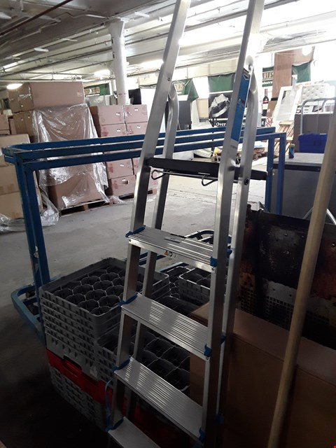 Lot 446 MAC ALLISTER ALUMINIUM STEP LADDER